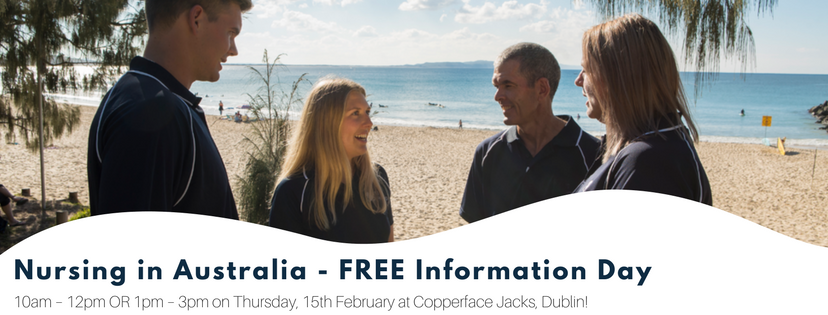 Nursing in Australia - FREE Information Day